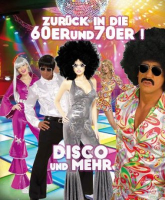70er Jahre & Hippie Party