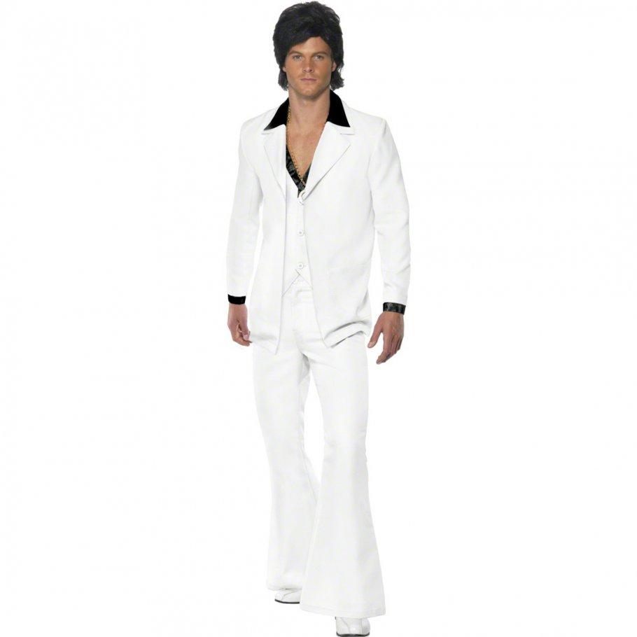70er 80er jahre outfit saturday night fever kost m wei l 52 54 star kost m john travolta kost m. Black Bedroom Furniture Sets. Home Design Ideas