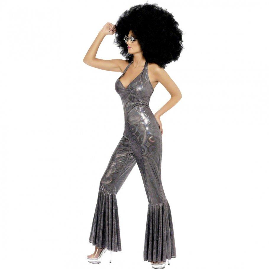 70er jahre kost m disco queen silber s 36 38 damenkost m. Black Bedroom Furniture Sets. Home Design Ideas