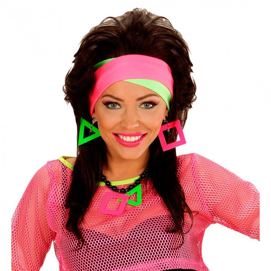80er jahre neon stirnband haarbänder haarband stirn haar