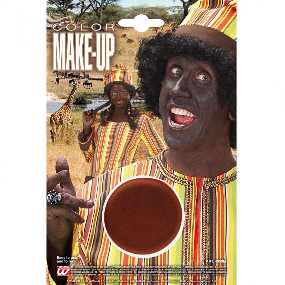 afrikaner schminke karneval make up braun theaterschminke faschingsschminke halloween makeup. Black Bedroom Furniture Sets. Home Design Ideas