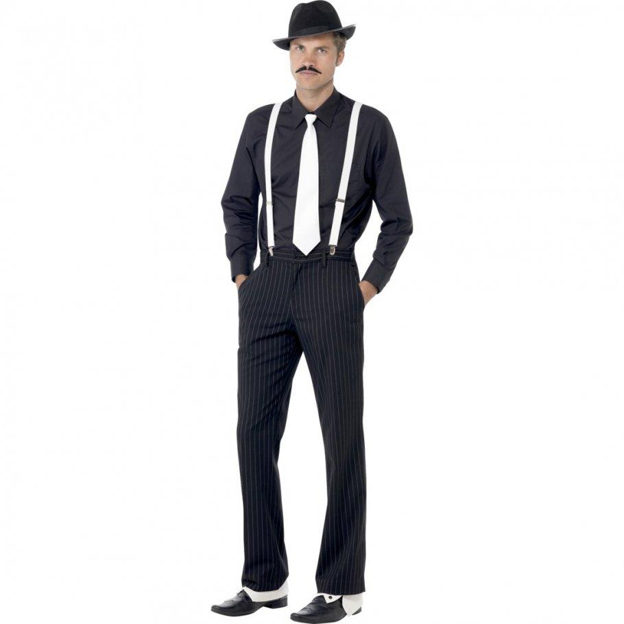 gangster kost mset mafiaset 20er jahre kleidung outfit. Black Bedroom Furniture Sets. Home Design Ideas
