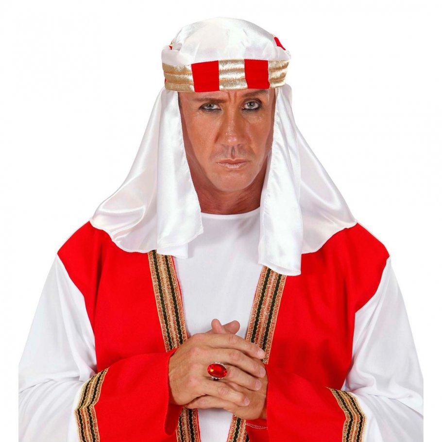 arabische kopfbedeckung scheich kopftuch araber turban 7 99. Black Bedroom Furniture Sets. Home Design Ideas