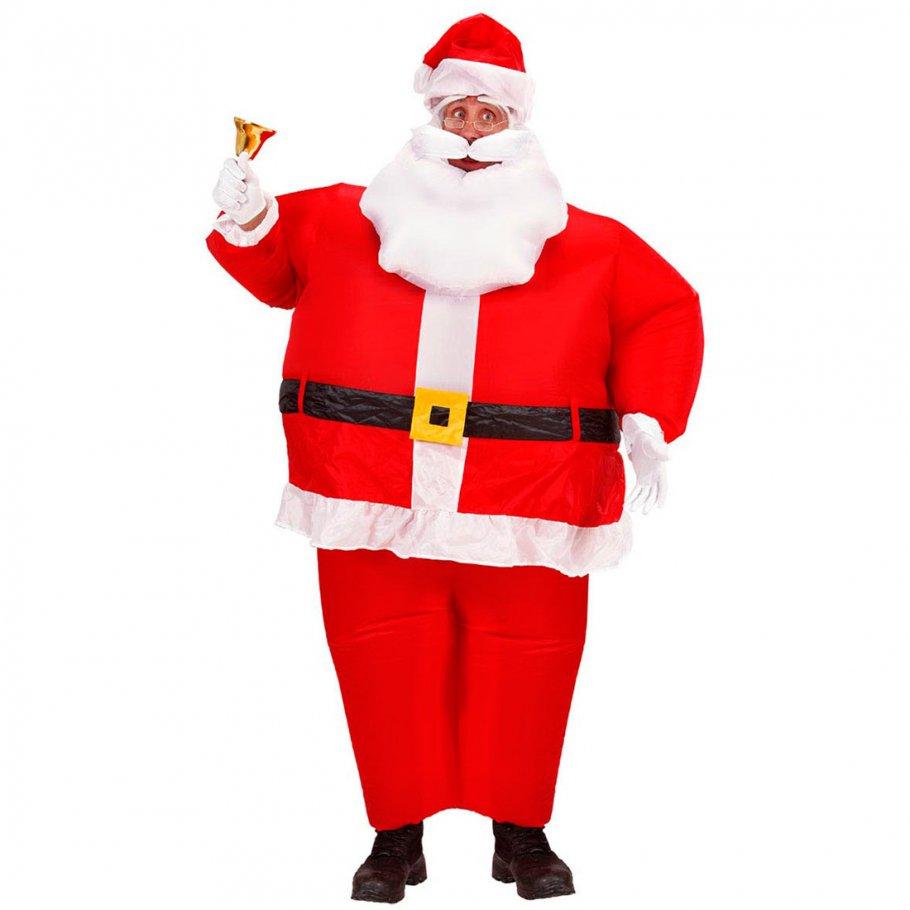 aufblasbares weihnachtsmann kost m nikolaus 43 99. Black Bedroom Furniture Sets. Home Design Ideas