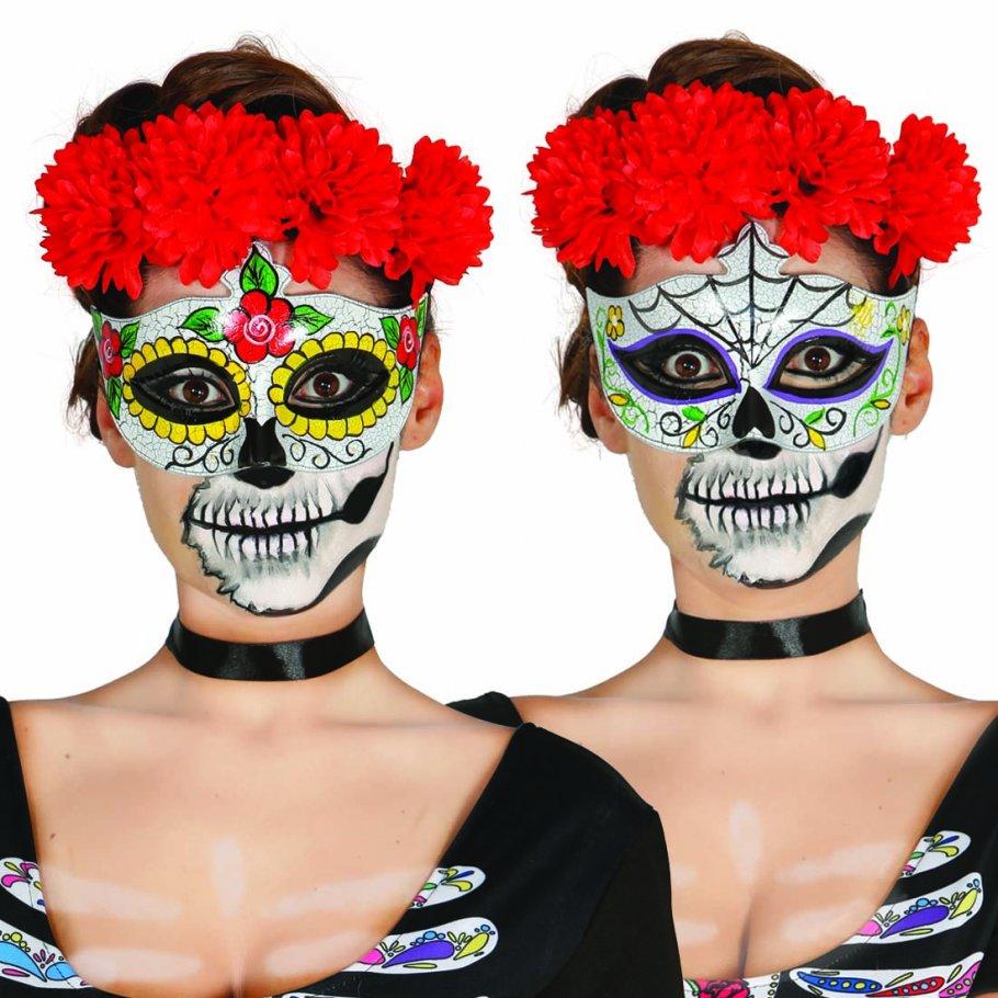 Augenmaske sugar skull mexikanische totenmaske 4 99 - Mexikanische totenmaske name ...