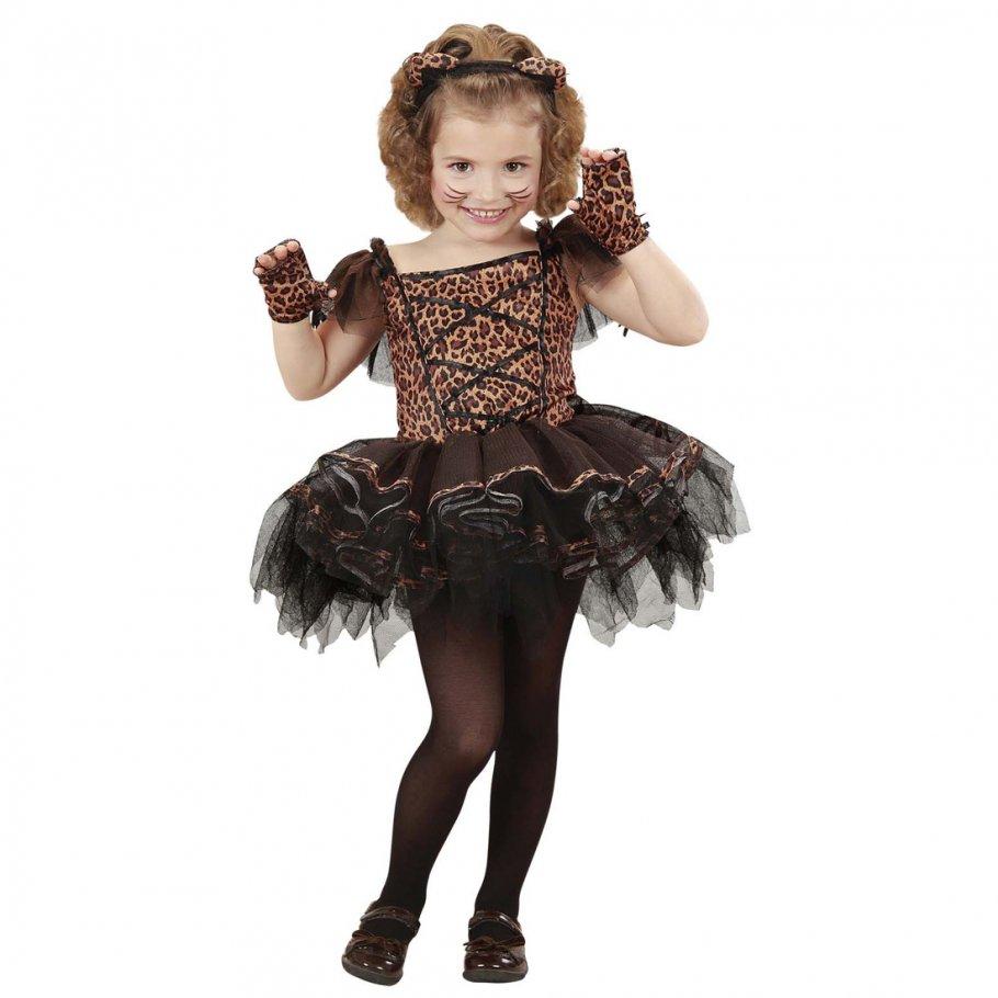 ballerina kost m leopard tutu katzenkost m kinder leoparden t t kinderkost m leopardenkost m. Black Bedroom Furniture Sets. Home Design Ideas