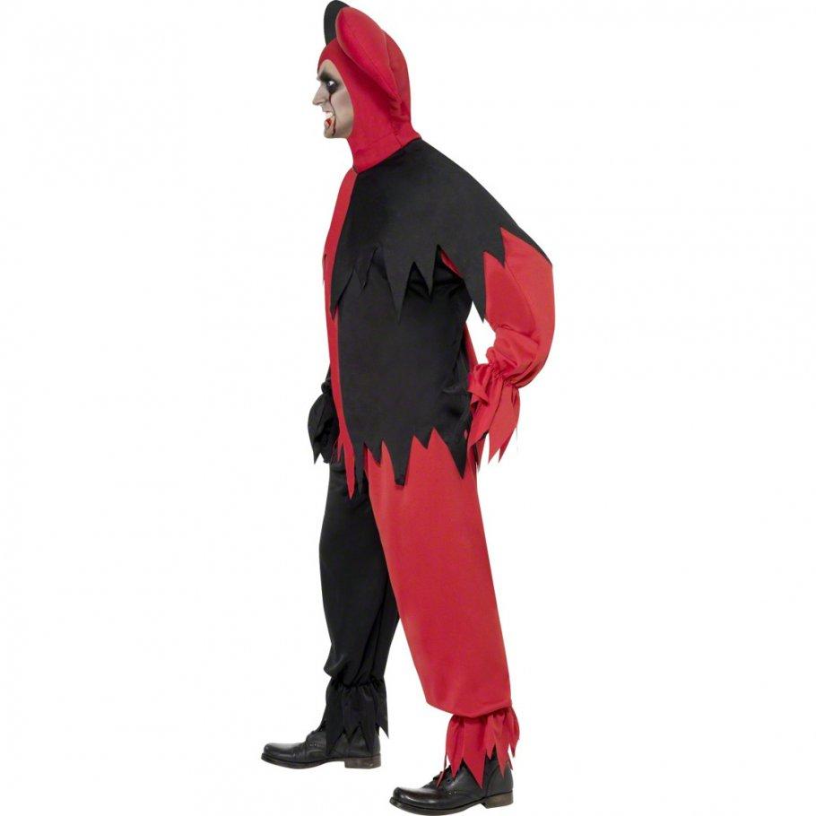 b ser clown halloween kost m harlekin clownkost m halloweenkost m clownskost m horrorclown 39 99. Black Bedroom Furniture Sets. Home Design Ideas