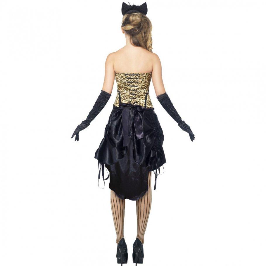 burlesque katzen kost m showgirl t nzerin damenkost m katze katzenkost m tanzkost m. Black Bedroom Furniture Sets. Home Design Ideas