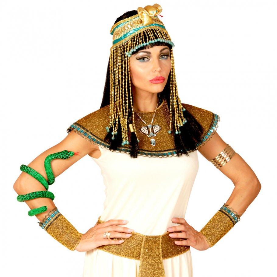 cleopatra kopfschmuck mit schlange gyptischer haarschmuck 17 9. Black Bedroom Furniture Sets. Home Design Ideas