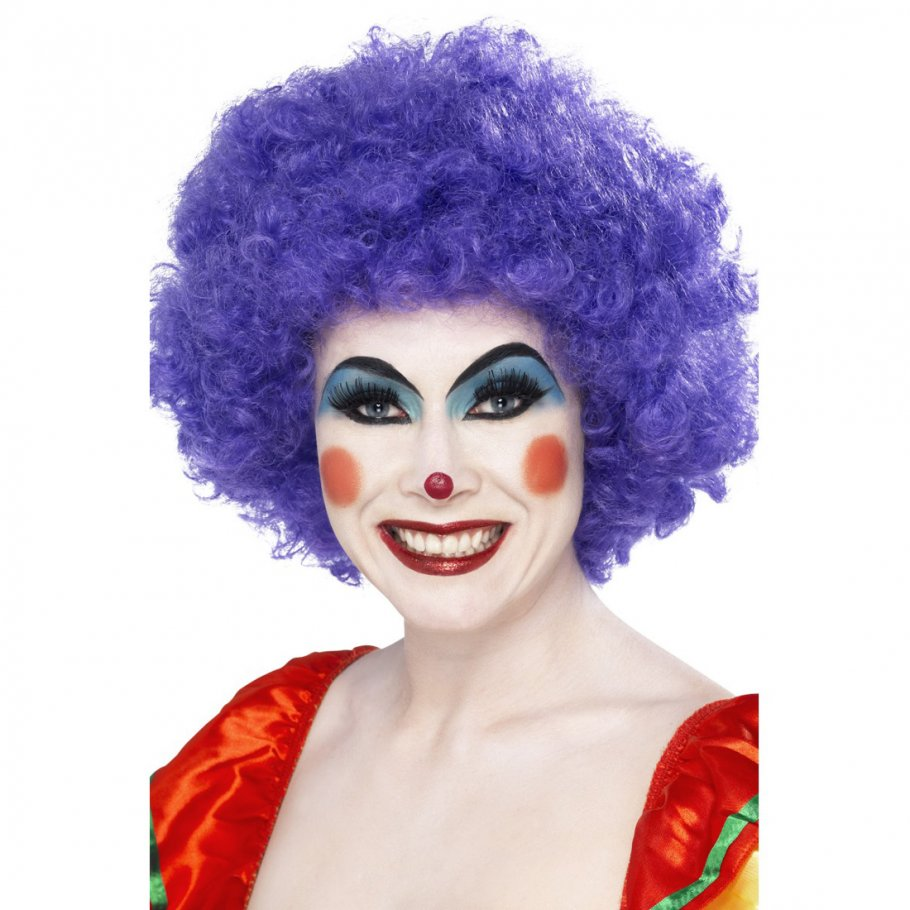 clown per cke afroper cke lockenkopf afro wig clownper cke. Black Bedroom Furniture Sets. Home Design Ideas