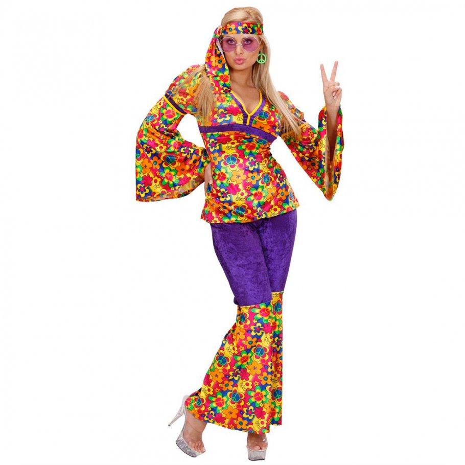 damen hippie kost me flower power m 29 99. Black Bedroom Furniture Sets. Home Design Ideas