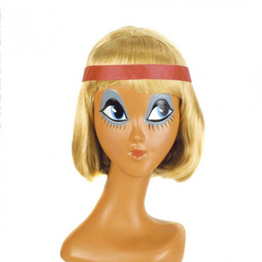damen per cke blond mit haarband faschingsper cke. Black Bedroom Furniture Sets. Home Design Ideas