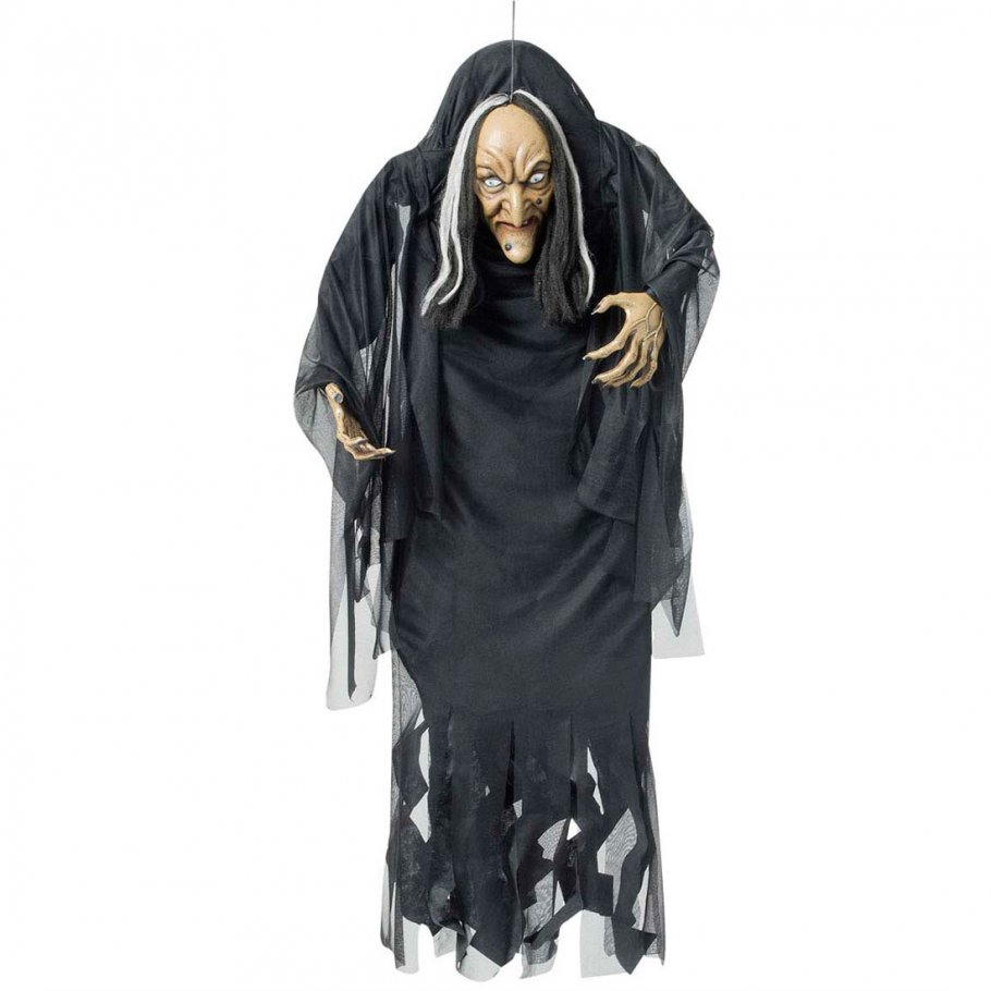 Deko Hexe Halloween Figur 140 Cm Hexenfigur 29 99