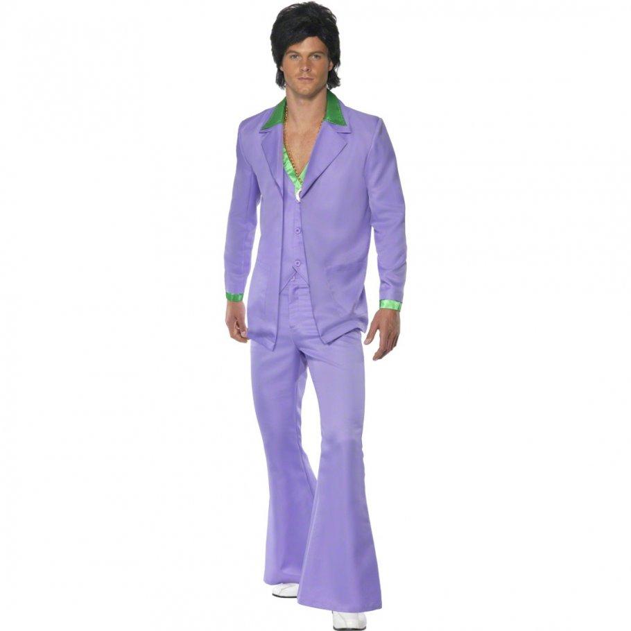 disco kost m herren 70er jahre outfit discoanzug schlager. Black Bedroom Furniture Sets. Home Design Ideas