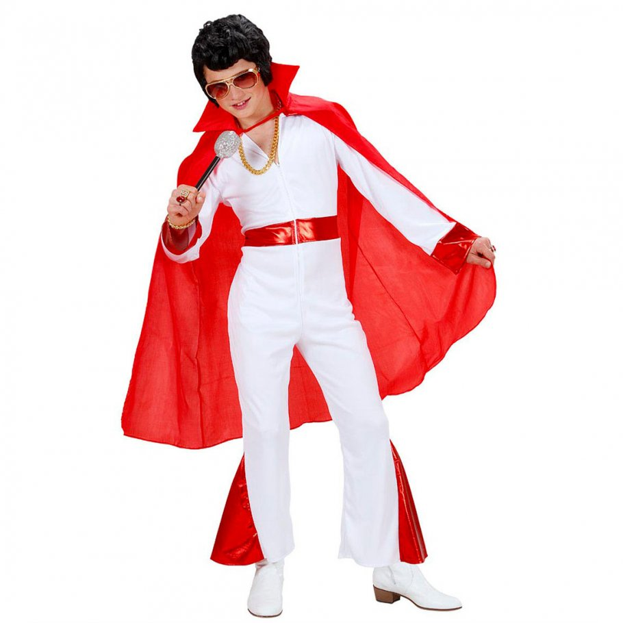 kinder elvis umhang superman cape rot teufel umhangmantel vampir mantel helden kost m halloween. Black Bedroom Furniture Sets. Home Design Ideas