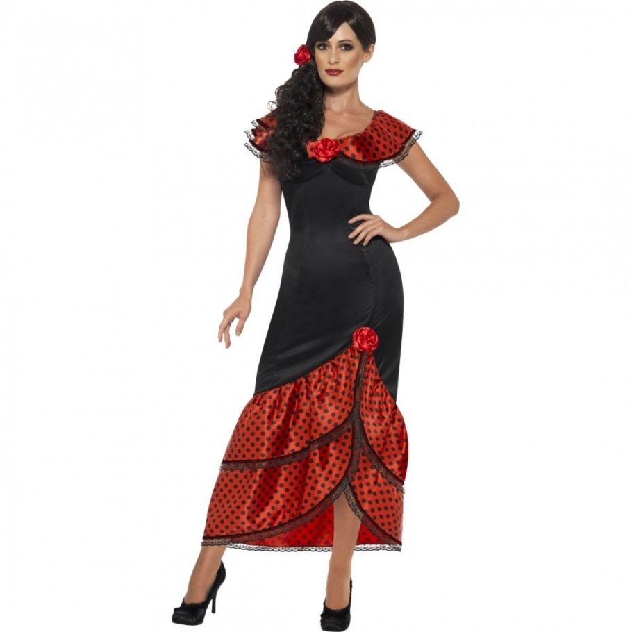 flamencokleid carmen spanierin kost m 30 99. Black Bedroom Furniture Sets. Home Design Ideas