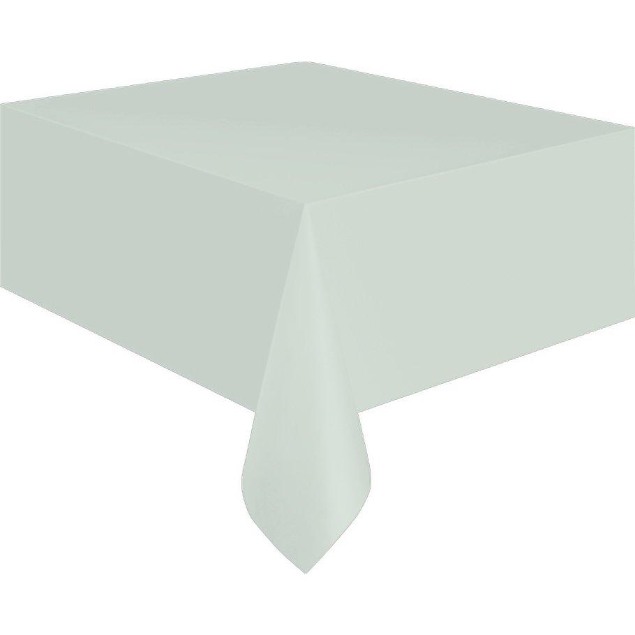 folien tischdecke wei tischdekoration geburtstag 137 x. Black Bedroom Furniture Sets. Home Design Ideas