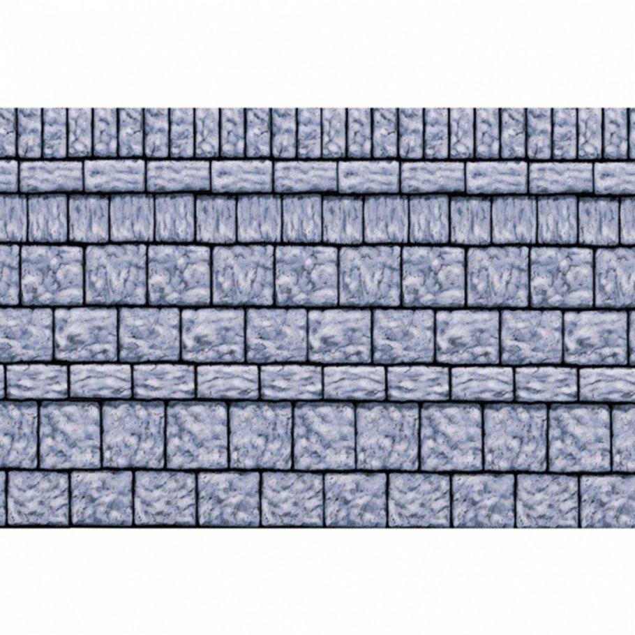 Folien Wanddeko Steinwand Mauer Dekofolien 120 cm hoch, 1500 cm lang ...