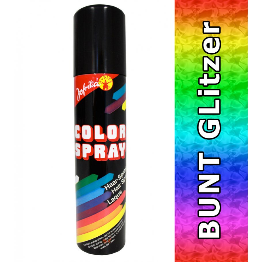haarspray colorspray bunt glitzer spray 4 49. Black Bedroom Furniture Sets. Home Design Ideas