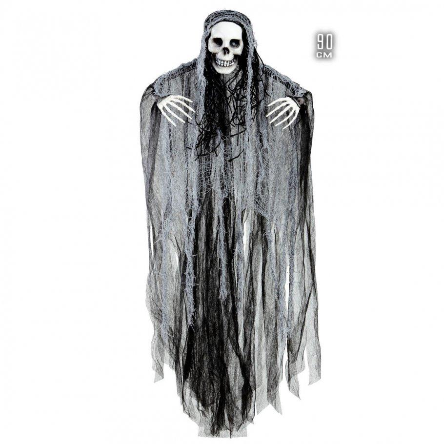 grim reaper deko halloween skelett zum aufh ngen 90 cm. Black Bedroom Furniture Sets. Home Design Ideas