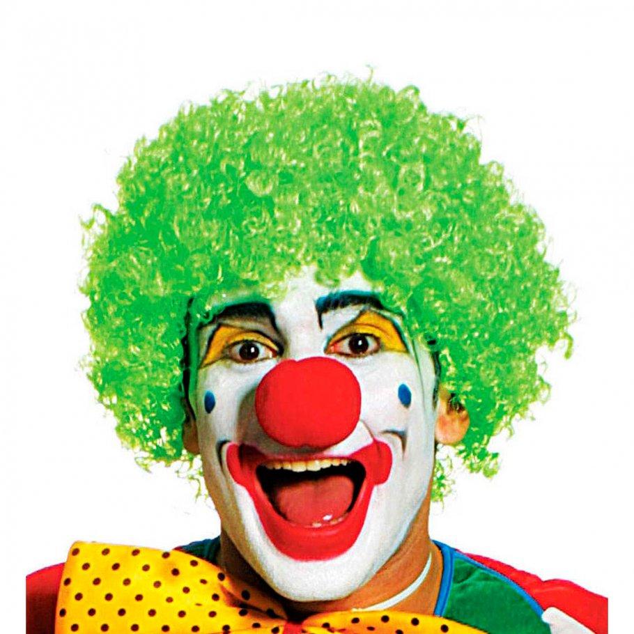 gr ne clown per cke narr harlekin karneval 7 99. Black Bedroom Furniture Sets. Home Design Ideas