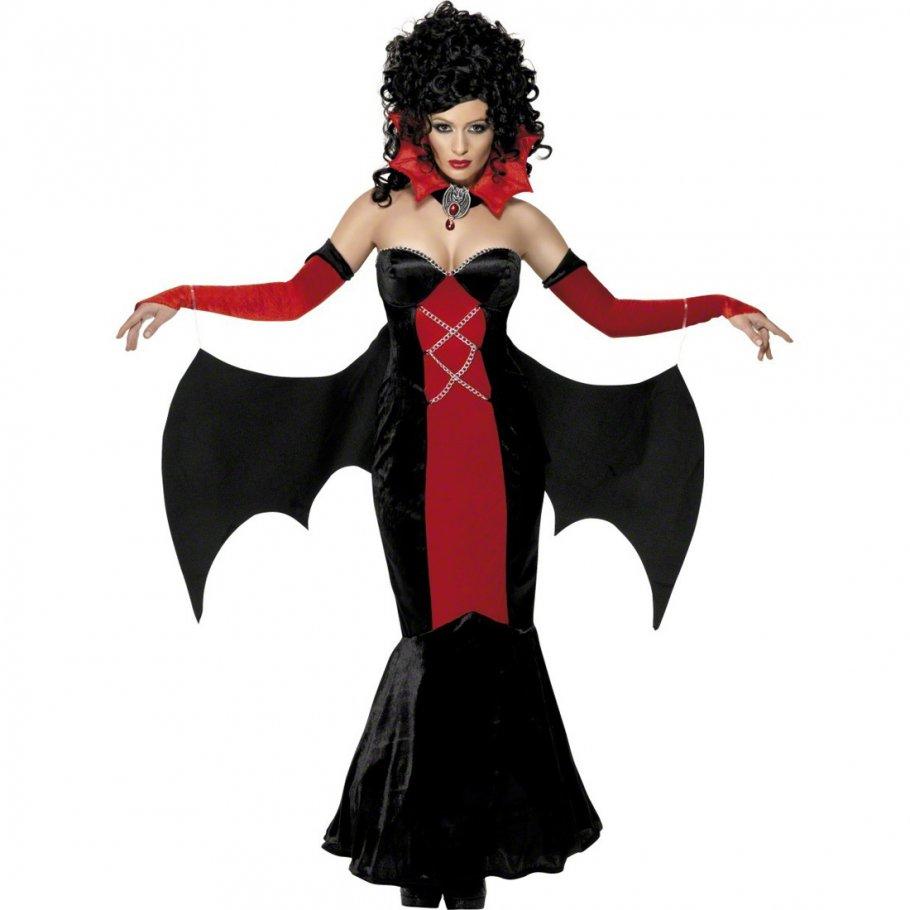 halloween kost m vampirin gothic verkleidung schlossherrin m 40 42 vampirkost m damen. Black Bedroom Furniture Sets. Home Design Ideas