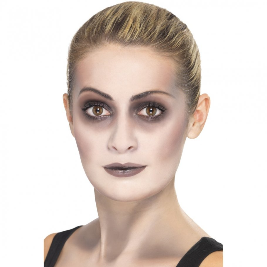 halloween schminke zombie makeup set mit blutkapsel blutige zombieschminke monster make up. Black Bedroom Furniture Sets. Home Design Ideas