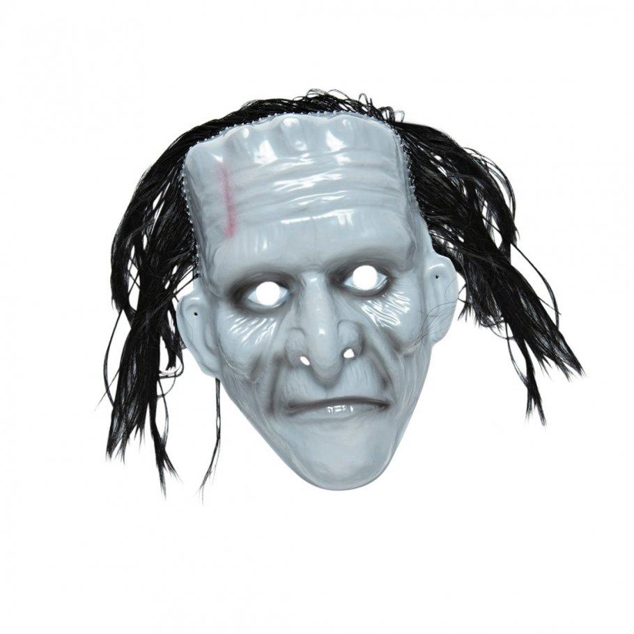 halloween monster maske gruselmaske frankenstein mit haar 3 99. Black Bedroom Furniture Sets. Home Design Ideas