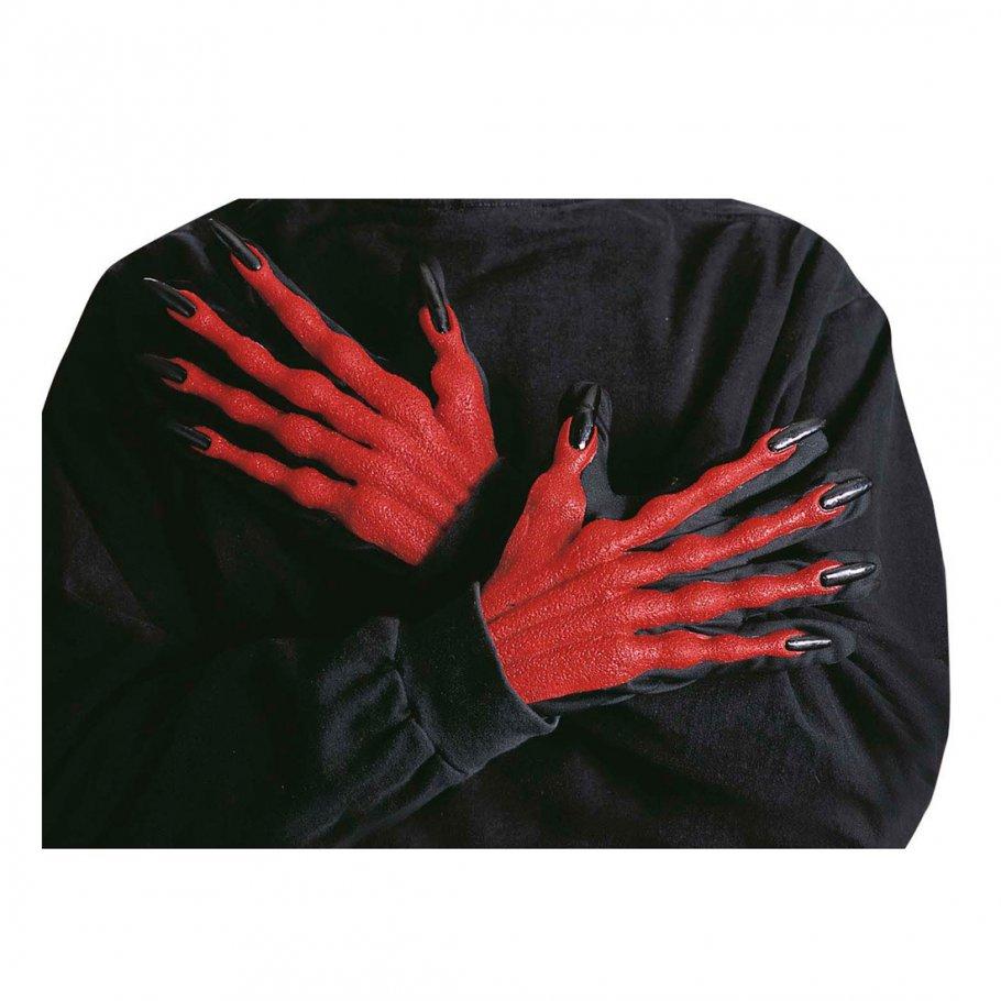halloween teufelsh nde f r kost m teufel 6 99. Black Bedroom Furniture Sets. Home Design Ideas