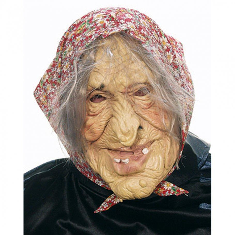 halloweenmaske horrormaske hexen maske oma masken 9 99. Black Bedroom Furniture Sets. Home Design Ideas