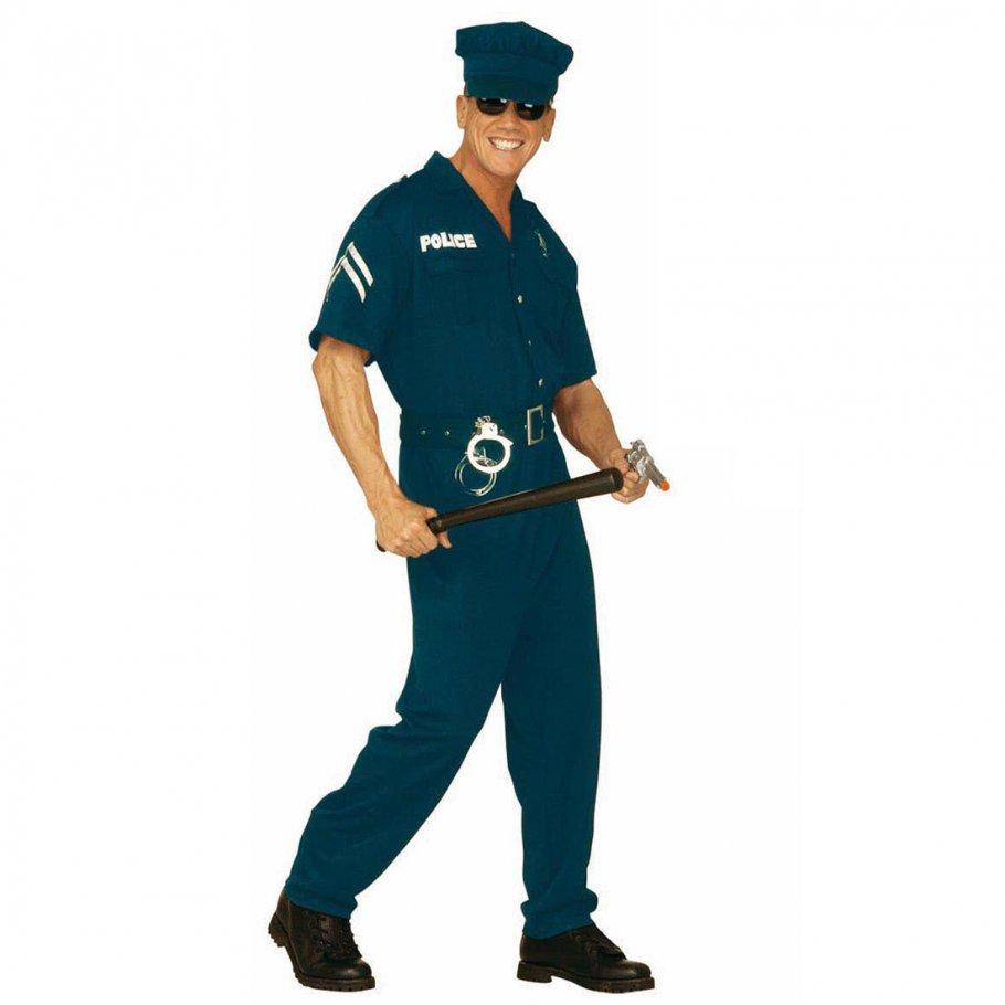 herren kost m us cop polizist kost me karneval l 32 99. Black Bedroom Furniture Sets. Home Design Ideas