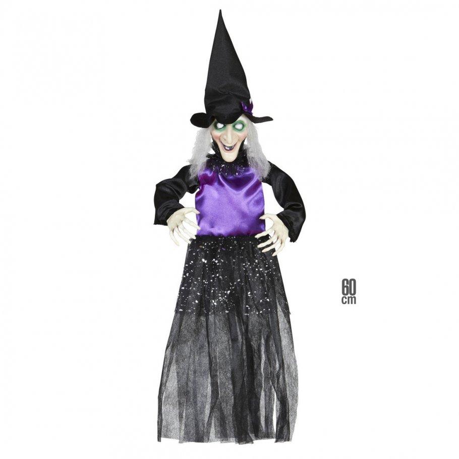 hexen deko halloween hexe 60 cm horror hexendeko m rchen. Black Bedroom Furniture Sets. Home Design Ideas