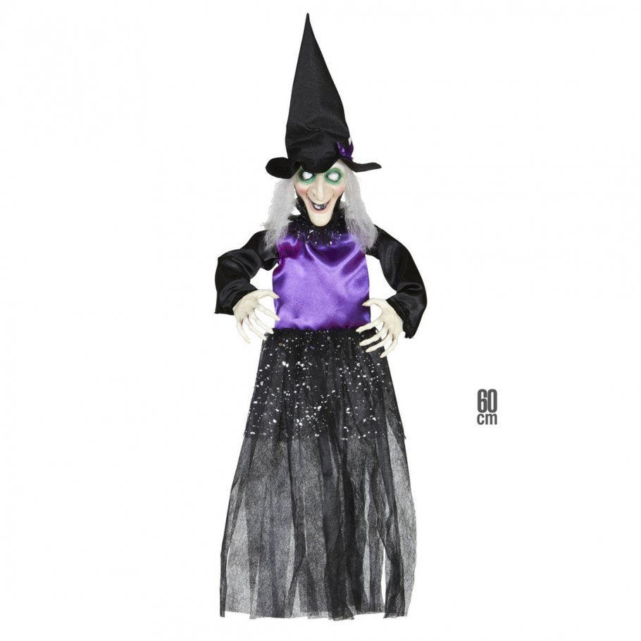 Hexen Deko Halloween Hexe 60 Cm Horror Hexendeko M Rchen