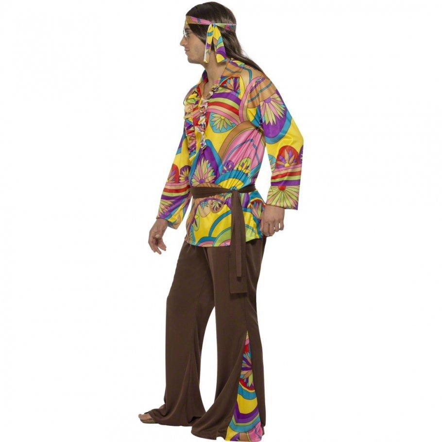 Hippie Kostu00fcm Herren L 52/54 Hippiekostu00fcm Flower Power Verkleidung 70er Jahre Outfit ...