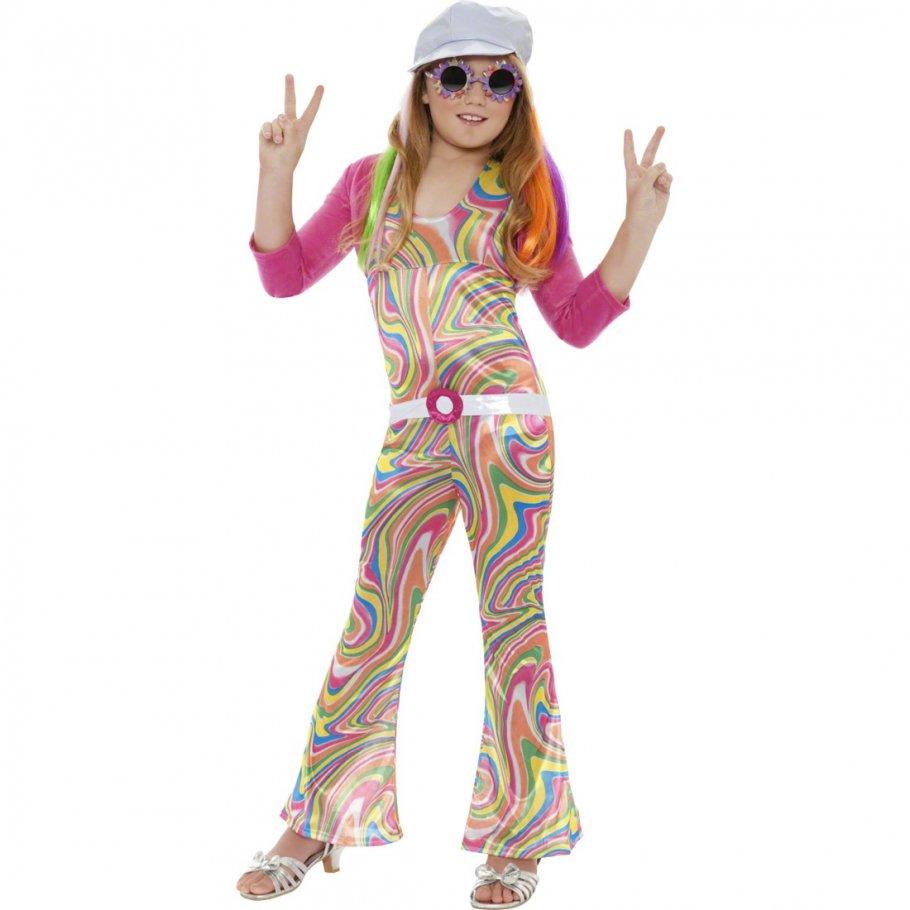 hippie kost m kinder 7 9 jahre hippiekost m flower power