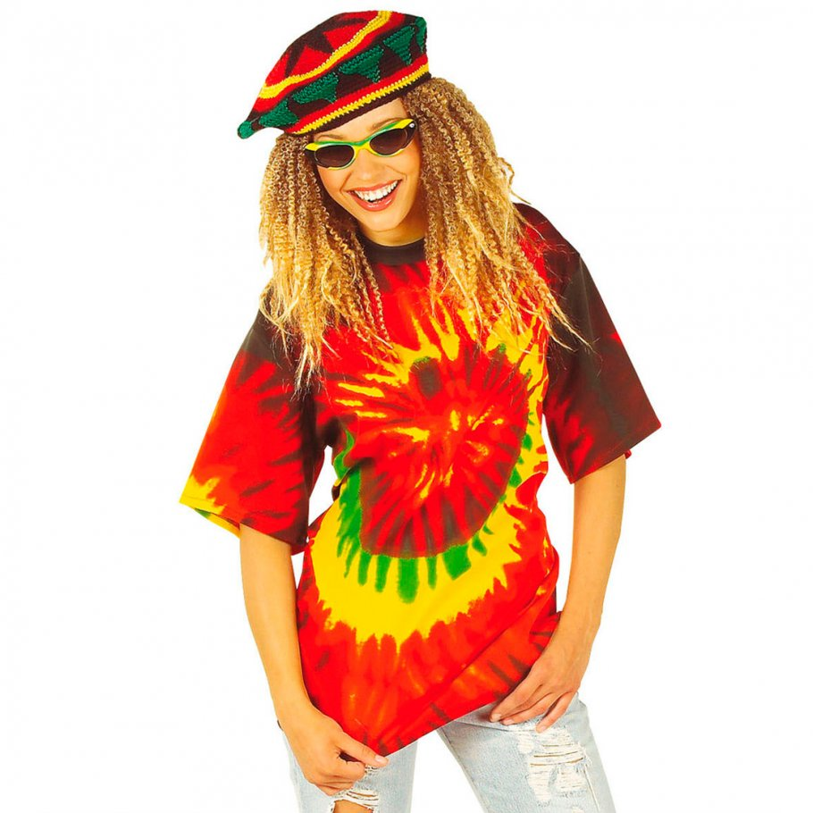 hippie shirt 70er jahre reggea look gr e l 16 99. Black Bedroom Furniture Sets. Home Design Ideas