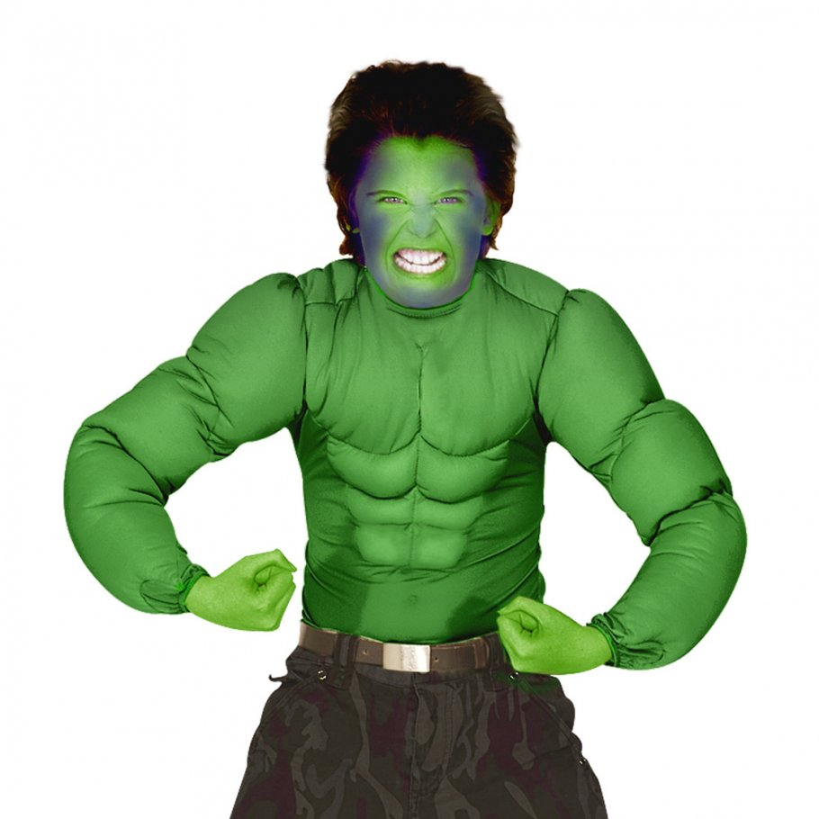 hulk kost m superhelden kinderkost m comic superheldenkost m gr n muskelkost m monster sixpack. Black Bedroom Furniture Sets. Home Design Ideas