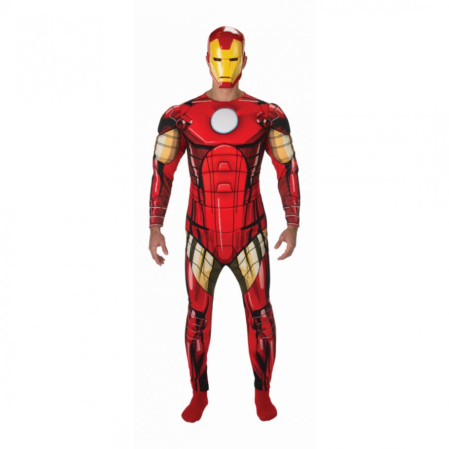 iron man kost m superhelden herrenkost m 49 89. Black Bedroom Furniture Sets. Home Design Ideas