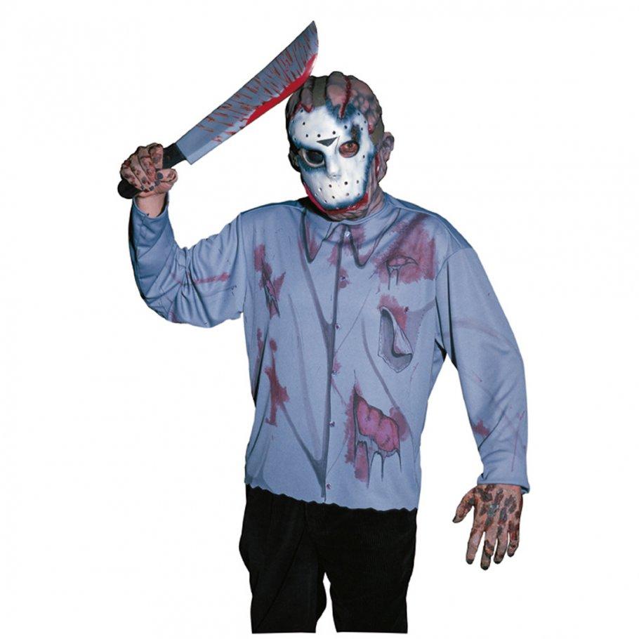 horror artikel jason machete accessoire kost m zubeh r 9 99. Black Bedroom Furniture Sets. Home Design Ideas