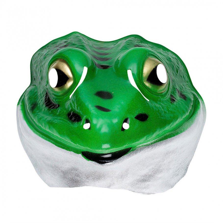 kinder frosch maske kr te tiermaske plastik froschmaske 3 99. Black Bedroom Furniture Sets. Home Design Ideas