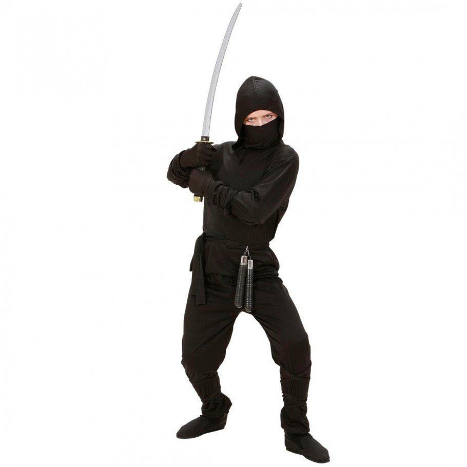 kinder kost m ninja k mpfer samurai s 128 cm 5 7 jahre 13. Black Bedroom Furniture Sets. Home Design Ideas