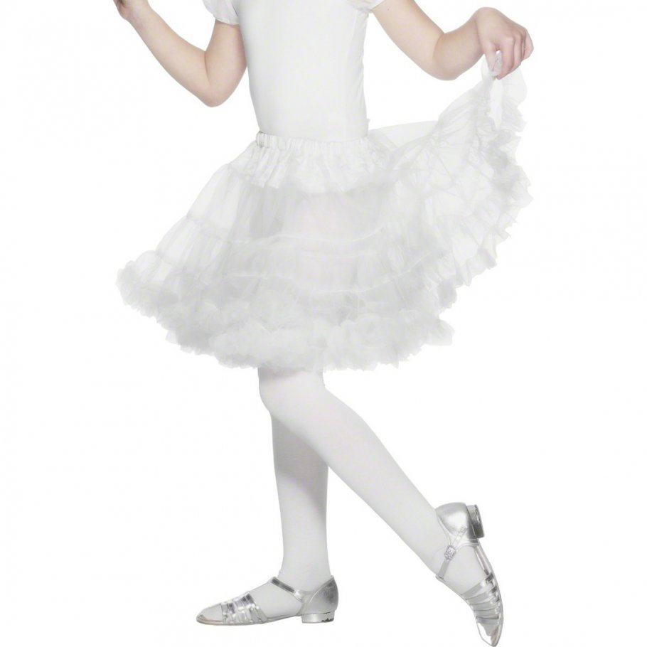 Kinder petticoat unterrock weiß ab jahre