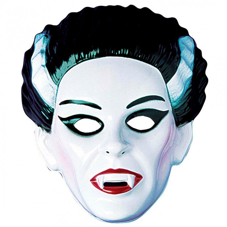 lady vampir maske dracula halloweenmaske hartplastik. Black Bedroom Furniture Sets. Home Design Ideas