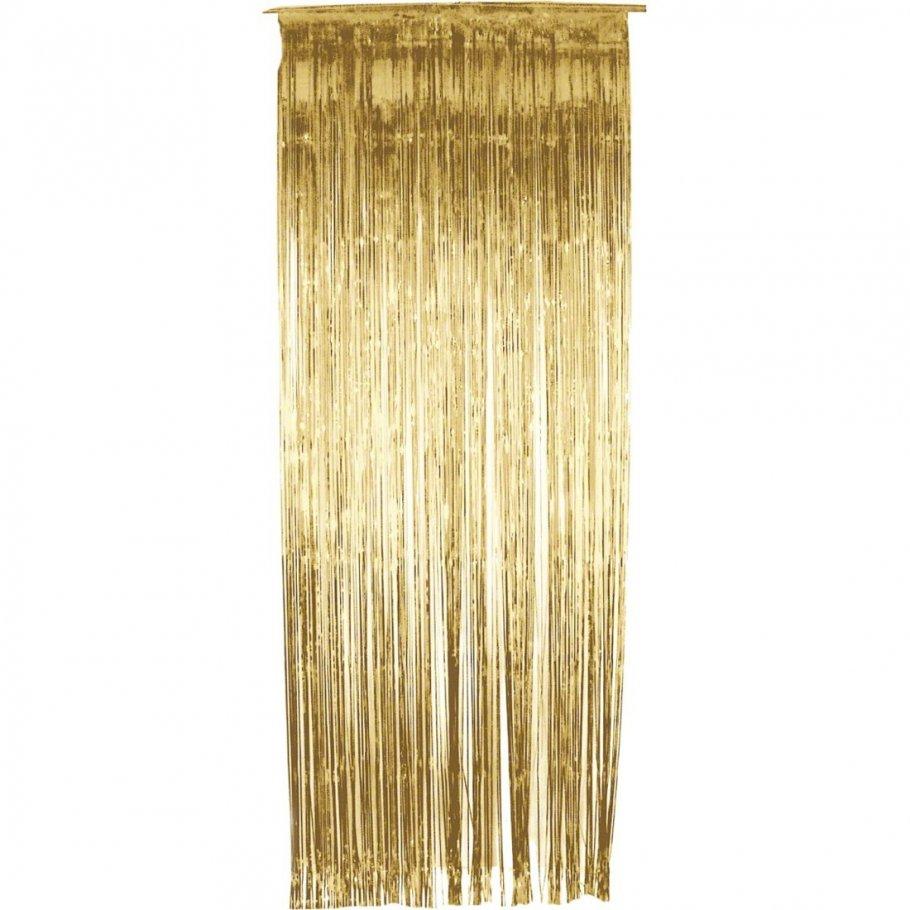 lametta vorhang gold lamettavorhang glitzervorhang dekovorhang glittervorhang 6 99. Black Bedroom Furniture Sets. Home Design Ideas