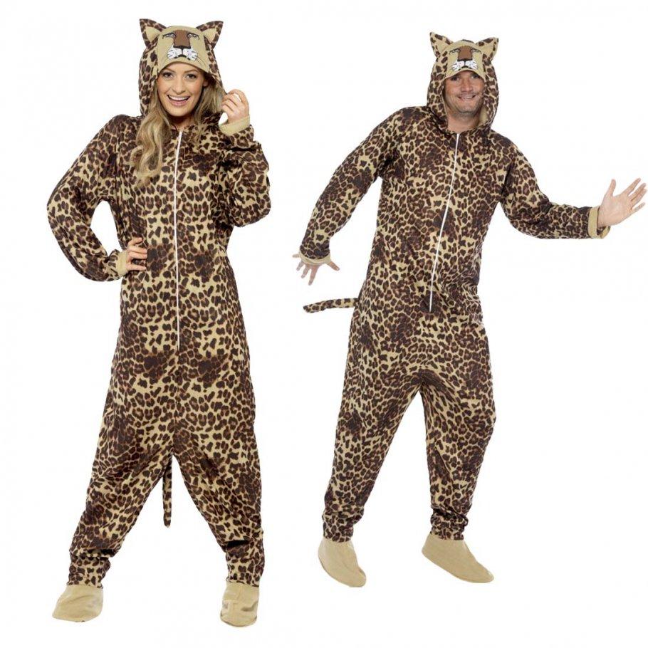 leopardenkost m jumpsuit leopard 29 99. Black Bedroom Furniture Sets. Home Design Ideas