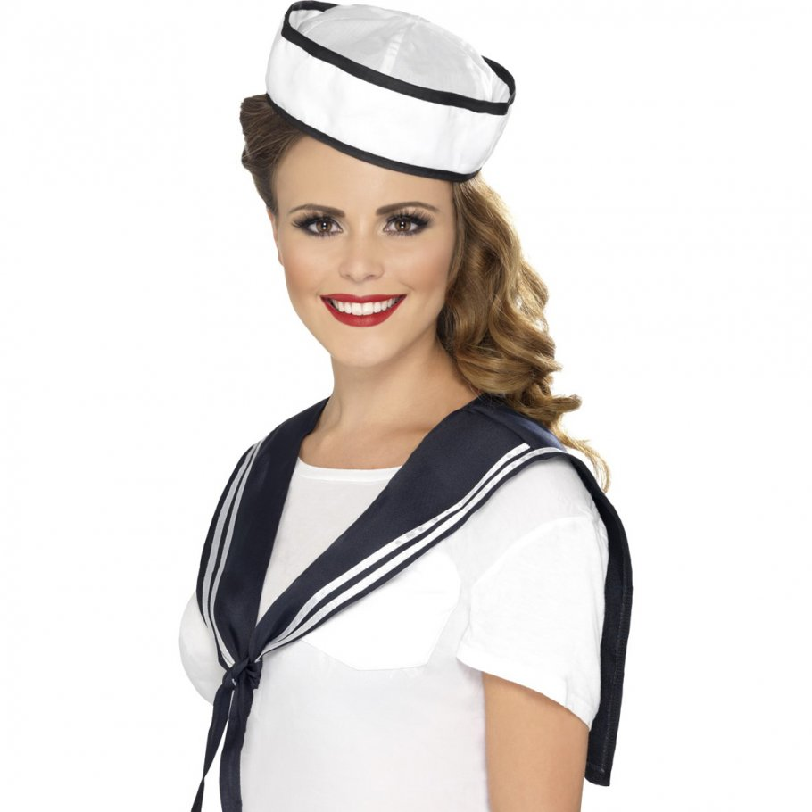matrosen verkleidung matrosenm dchen marine outfit matrosenkost me kost mzubeh r 5 99. Black Bedroom Furniture Sets. Home Design Ideas