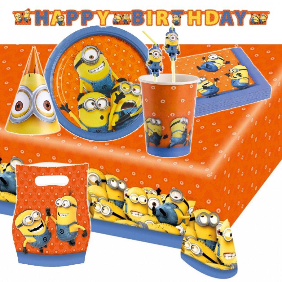 Minions geburtstagsparty deko kindergeburtstag party for Geburtstagsparty deko