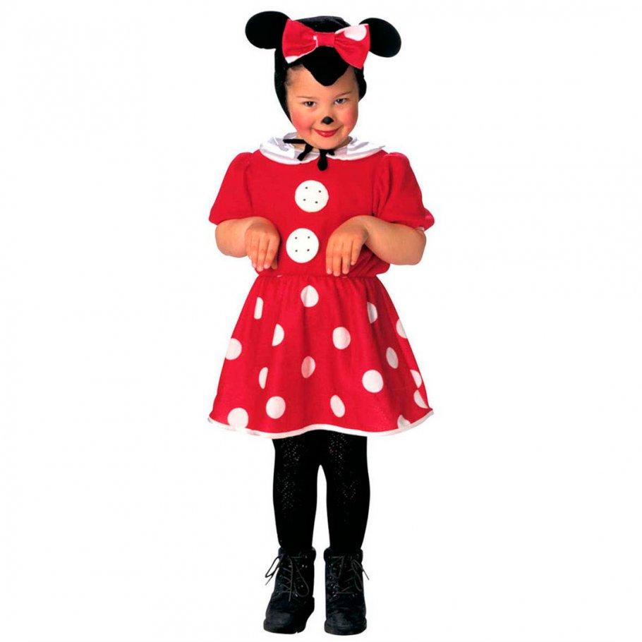 minnie mouse kost m maus kinderkost m 104 cm m uschen m dchenkost m 16 99. Black Bedroom Furniture Sets. Home Design Ideas