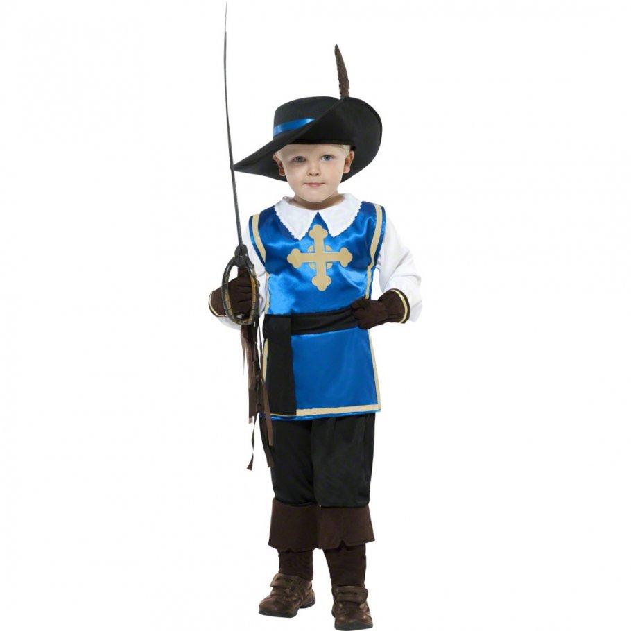 musketierkost m kinder ritter kost m blau m 140 cm. Black Bedroom Furniture Sets. Home Design Ideas