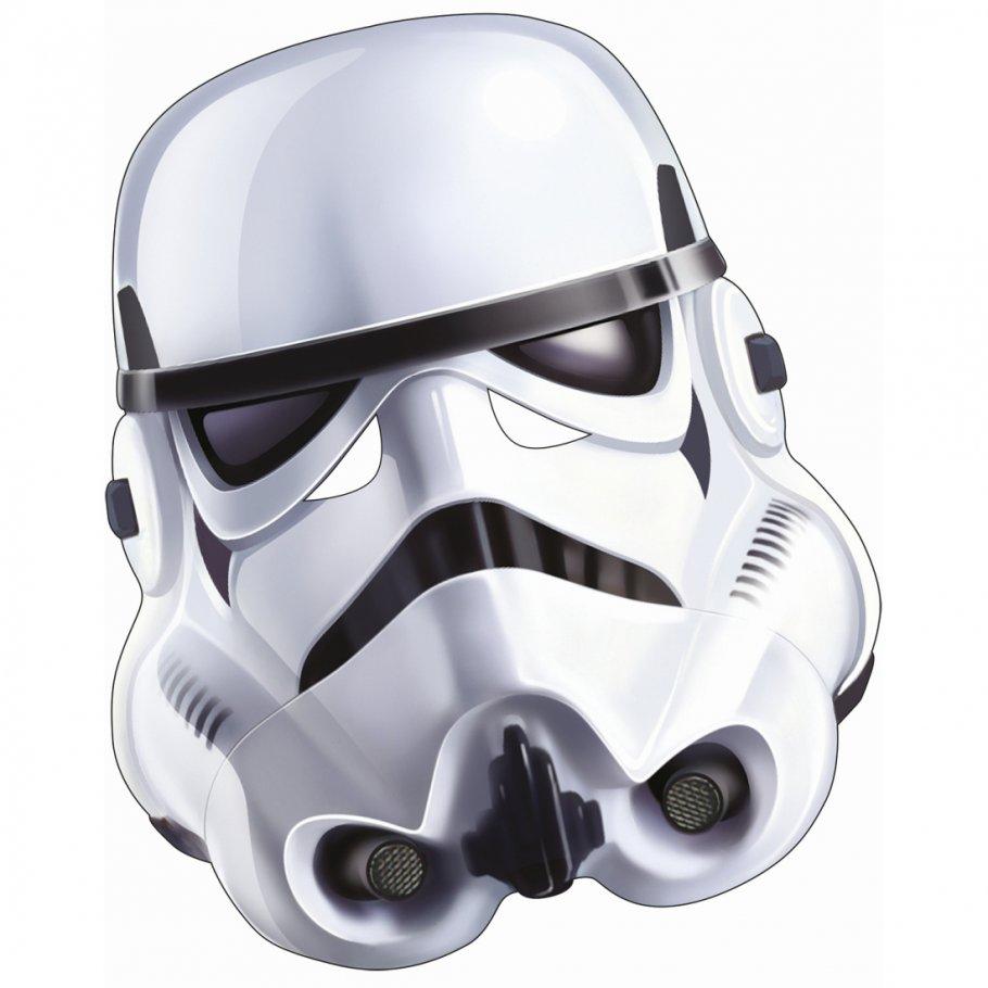 Original Star Wars Stormtrooper Maske Pappe Clone Trooper Pappmaske E